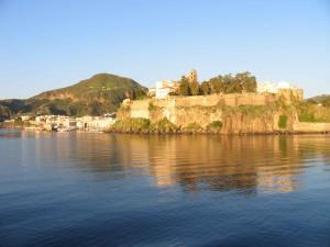 isola di lipari: il castello