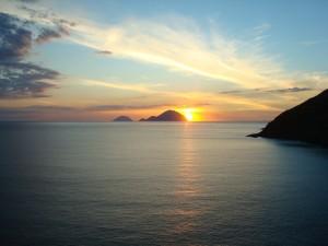 tramonto a panarea