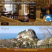 Il B&B dé Medici è situato nel cuore del centro storico di Tropea